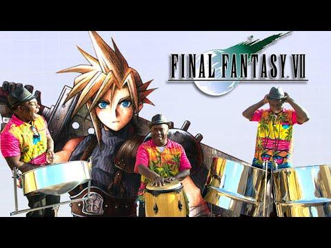 Final Fantasy VII  STEEL DRUM BAND Fight Medley.