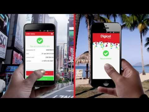 Try the new Digicel Top Up App TODAY
