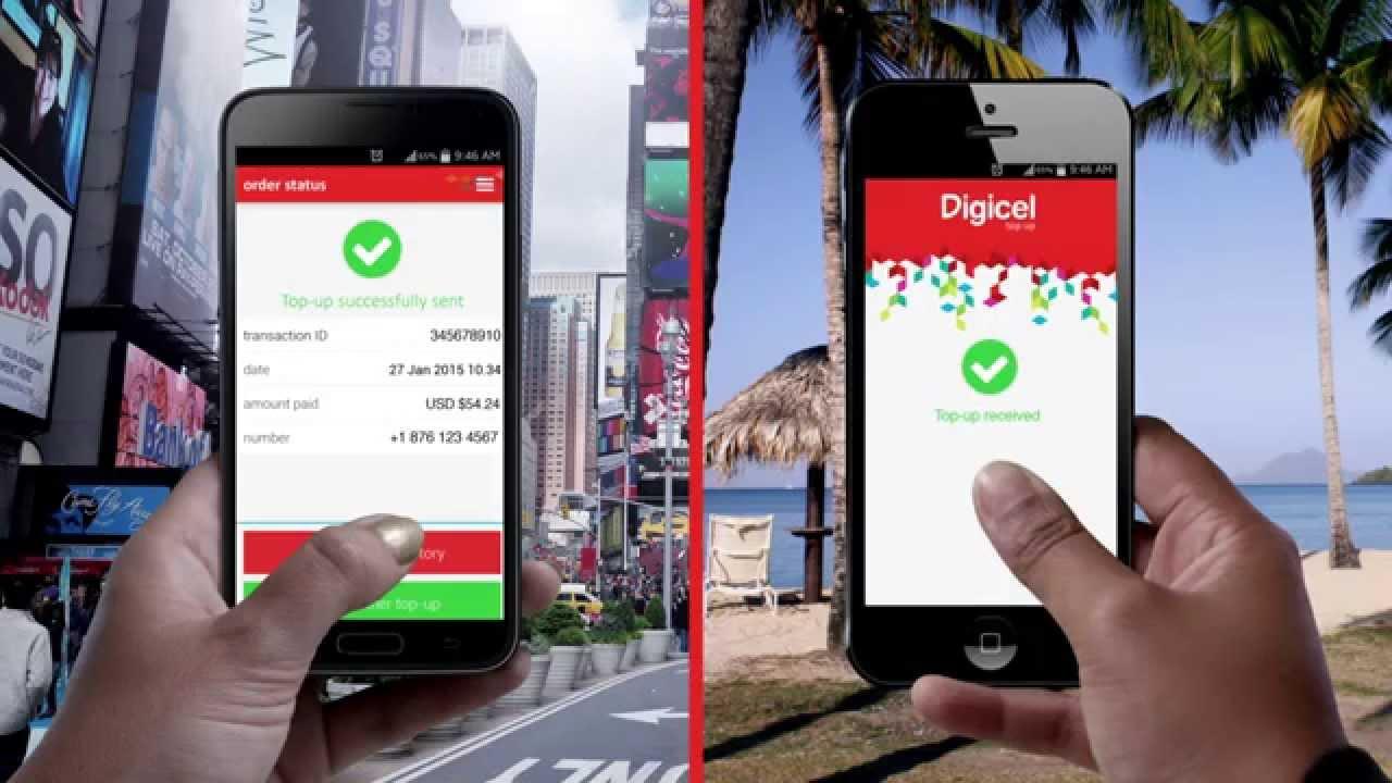 Digicel Top Up App