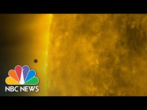 Watch Mercury Make Rare Transit Between Earth And The Sun!