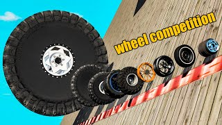 Wheels Competition  Who is better?  Beamng drive