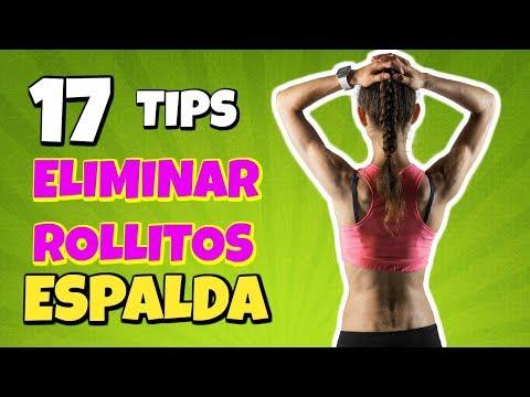 17 TIPS PARA ELIMINAR ROLLITOS DE LA ESPALDA Y DE LOS BRAZOS REDUCIR CINTURA