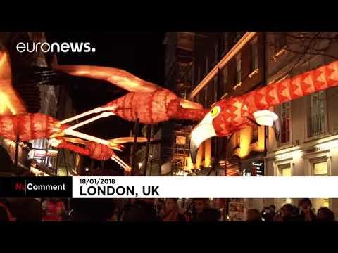 Огни Лондона  Euronews