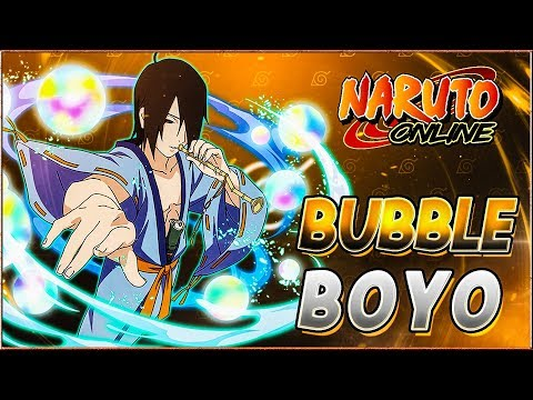 Naruto Online | Edo Utakata - Blows.. Bubbles