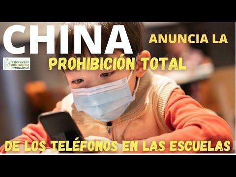 China prohibe el uso del teléfono móvil en todos las escuelas