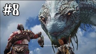 God Of War 4 PS4 - Part 8 - DEAD FROST GIANT!