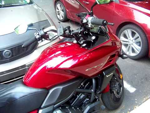 my 2014 honda ctx700 automatic motorcycle review - youtube