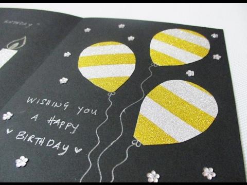 DIY #170   Birthday Card ❤
