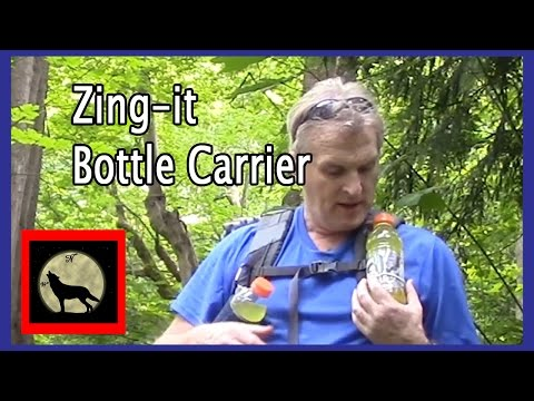 How to make a Zing-it Water Bottle Carrier for Backpacking