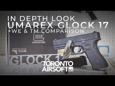IN DEPTH: OFFICIALLY LICENSED GLOCK 17 + WE/TM COMPARISON - TorontoAirsoft.com