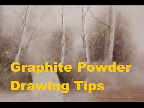 Graphite Powder Drawing Tips
