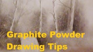 Graphite Powder Drawing Tips