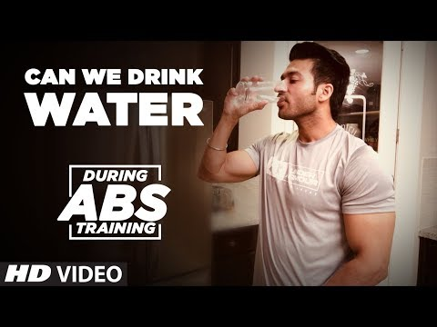 Can we drink Water during ABS training? – Myth Vs Reality || Guru Mann Tips For Healthy Life