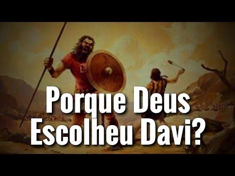 Porque Deus Escolheu Davi? Devocional Da Palavra De Deus! Fé!