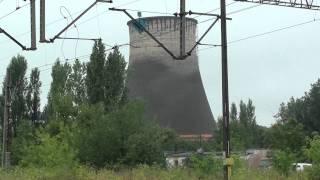Wyburzanie komina w Lublinie