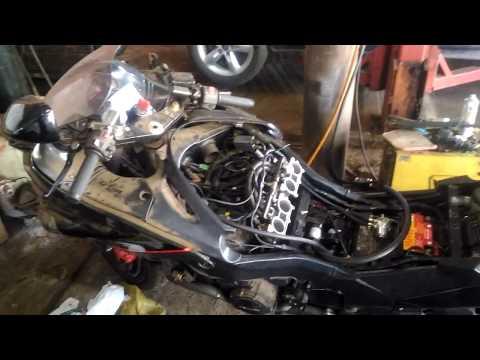 Kawasaki Zx11 Adaptando Injeção Eletrônica