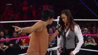 AJ Lee resigns as Raw General Manager Raw (Oct 22 2012)