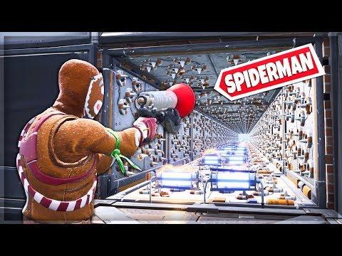 NOWY TRYB '🕷️ BĄDŹ JAK SPIDERMAN' WSZYSTKO DO OKOŁA ZABIJA! TRYB KREATYWNY - Fortnite Battle Royale