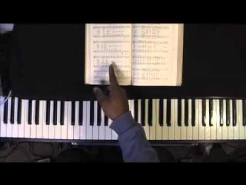 """Sam's Gospel Music Course 2011 """" Guide My Feet"""" in Ab for Advanced Organ"""