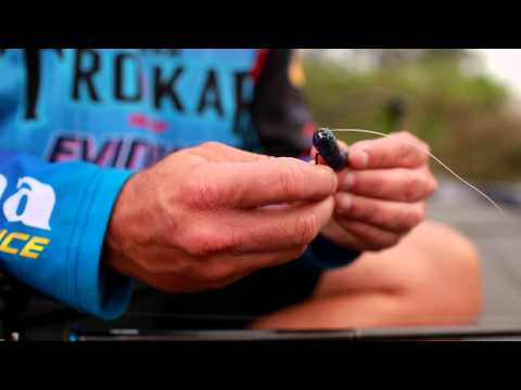 Bass Fishing: How to Texas Rig Soft Plastic Worms with Scott Martin