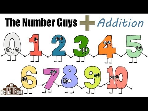 The Number Guys Addition Tables Collection  0 to 10  The Kids Picture Show Fun & Educational