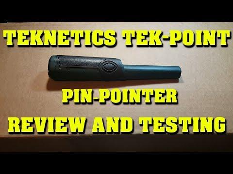 Metal Detecting:  Teknetics Tek-Point Pin Pointer Review
