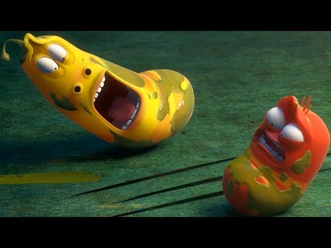 LARVA | OIL | Videos For Kids | LARVA Full Episodes | Videos For Kids
