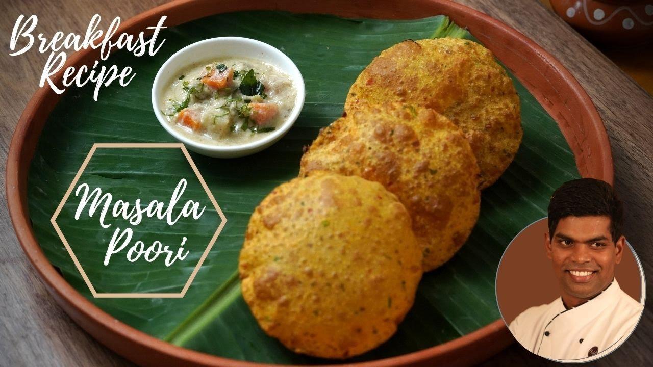 How to Make Masala Poori | மசாலா பூரி | Breakfast Recipe In Tamil | CDK #296 |Chef Deena's Kitchen