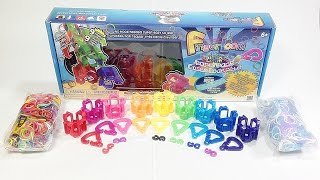 Rainbow Loom Finger Loom Party Pack Unboxing / Review (Loom bandz)