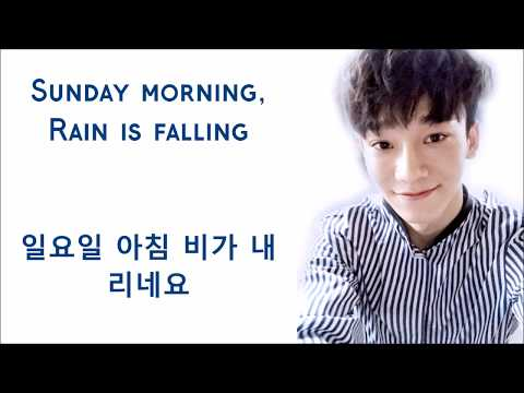 EXO (엑소) Chen (첸) - Sunday Morning (Eng/Kor Lyrics)