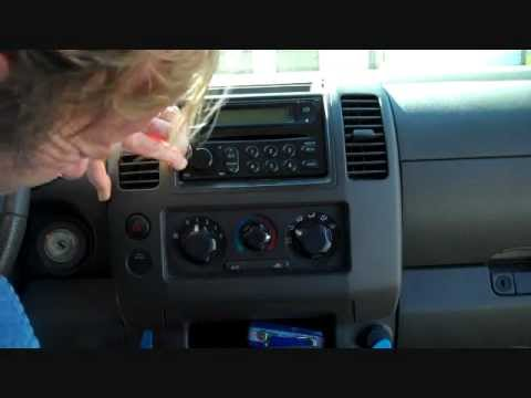 How To Nissan Frontier Bose Car Stereo Radio Removal 2005