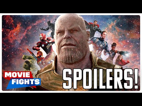 AVENGERS: ENDGAME MOVIE FIGHTS (SPOILERS)