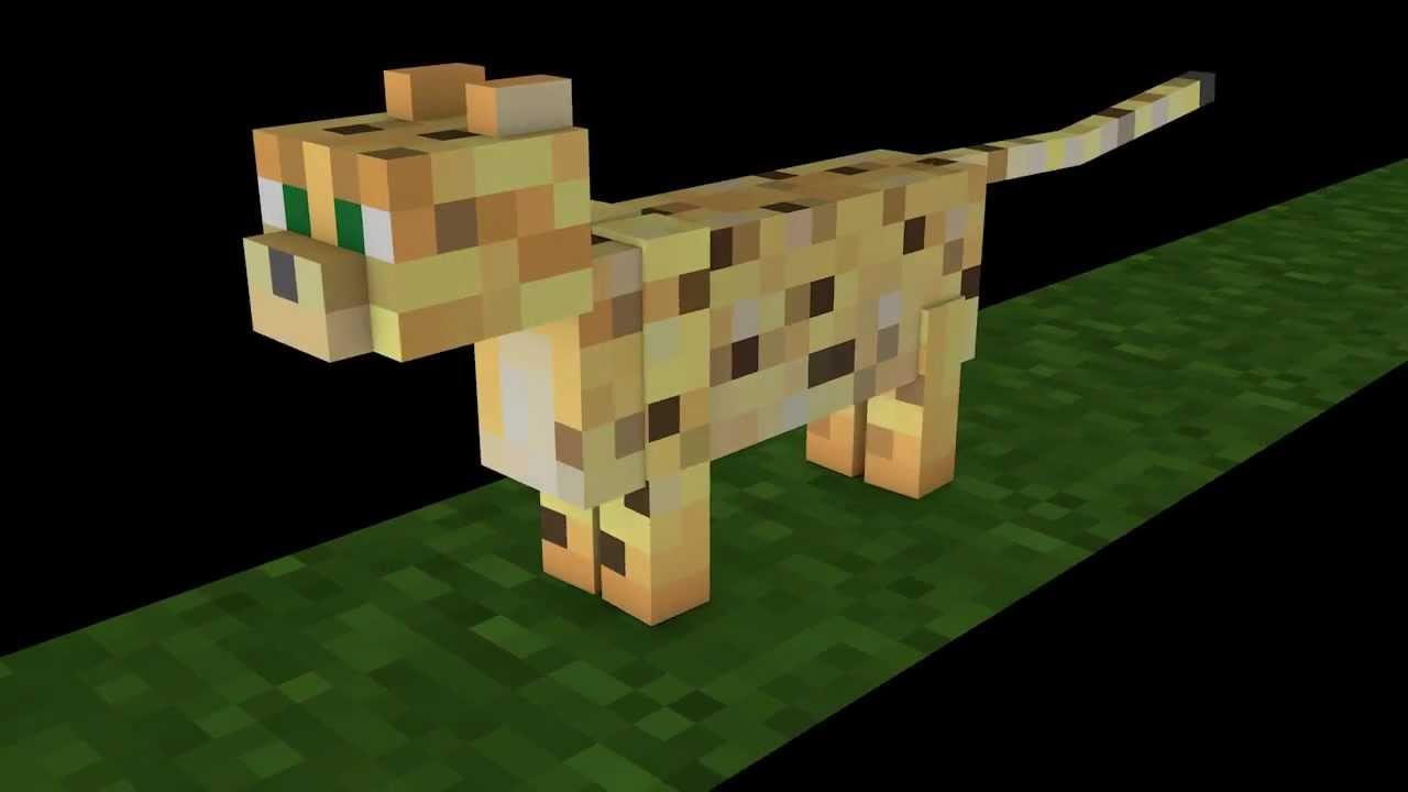 нужно коты майнкрафт оцелот максимальном приближении спутниковая