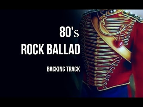 Marillion - Kayleigh / 80's Rock ballad backing track / Guitar jam track