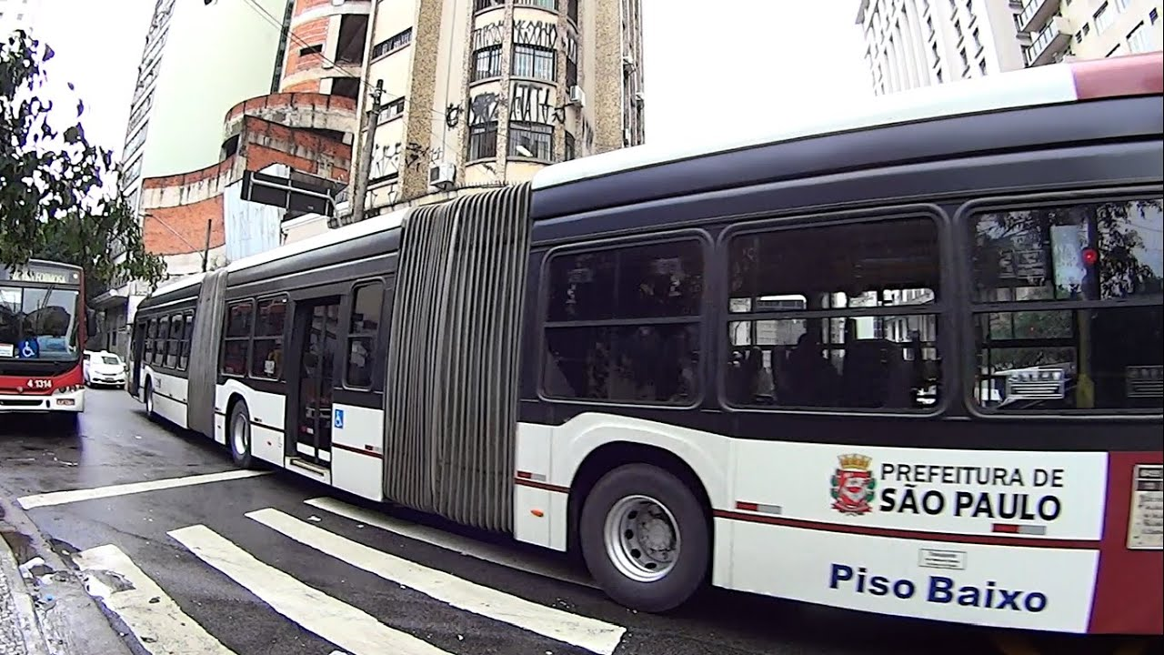 public transport in brazil the largest bus in the world