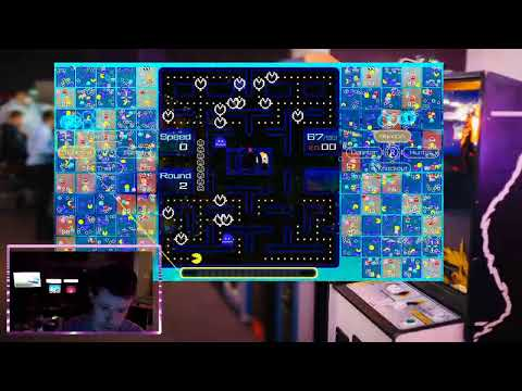 TECHNOBILLY LIVE: Playing Pac-Man 99 on an Arcade1up! from TechnoBilly