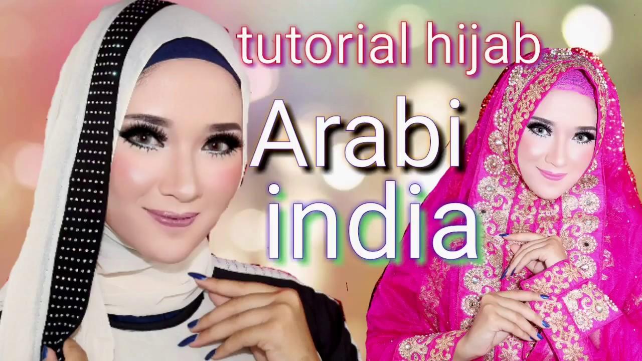 Tutorial Hijab Pasmina Ala Nissa Sabyan Arabi India Tren Hijab Arab2018 Super Cepat 1 Menit Jadi Youtube