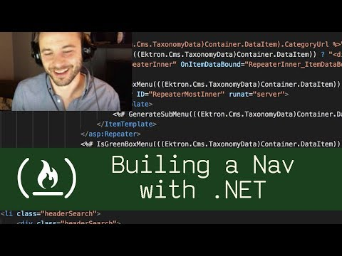 Building a Nav with .NET (P3D2) - Live Coding with Jesse