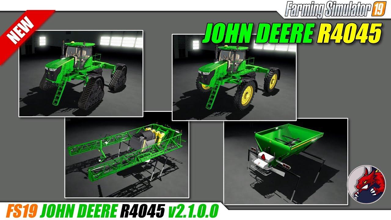 John Deere R4045 v2 1 for FS19