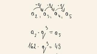 Matura poprawkowa - zadanie 12 - ciąg geometryczny