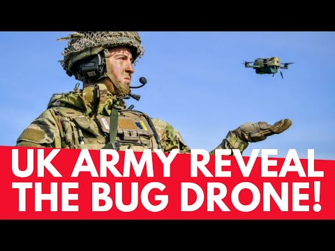 UK Army Reveal The Bug Drone – Capable Of Flight In 50mph Winds! – Geeksvana Drone News
