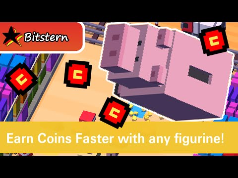 DISNEY CROSSY ROAD Legendary Characters : Hamm Unlock (Toy Story)    iOS Features & Gameplay