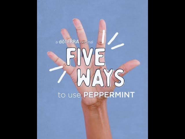 5 Ways   Peppermint