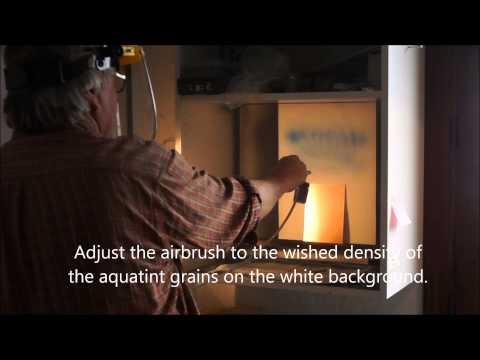 Lascaux Aquatint Spray Resist