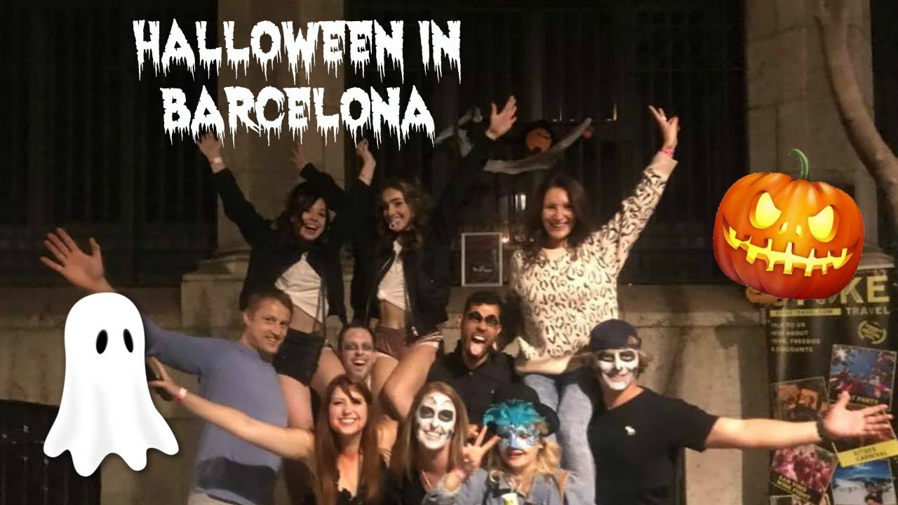 halloween in barcelona mare in eur vlog 9