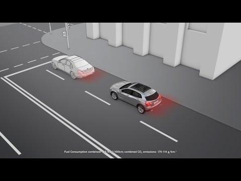 The GLA: COLLISION PREVENTION ASSIST - Mercedes-Benz original