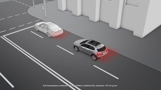 The GLA: COLLISION PREVENTION ASSIST - Mercedes-Benz original