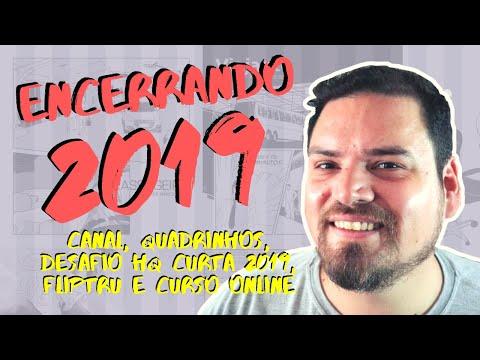 Encerrando 2019 - Quadrinhos, Desafio HQ Curta 2019 e Fliptru