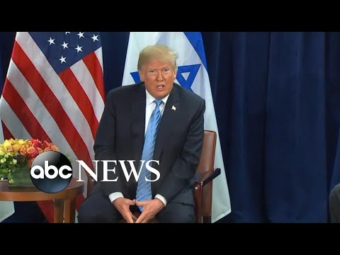Trump backs two-state solution for Israeli-Palestinian conflict