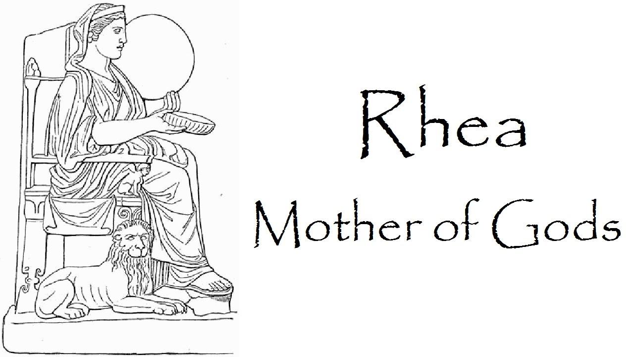 greek mythology story of rhea youtube